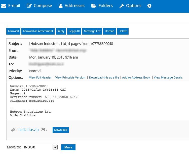 CTB Virus Fake Mail: Stellar UK