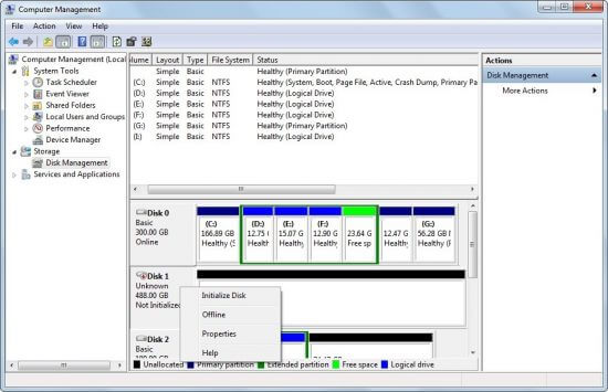 Tips to Fix Hard Drive uninitialized Error- Stellar Data Recovery